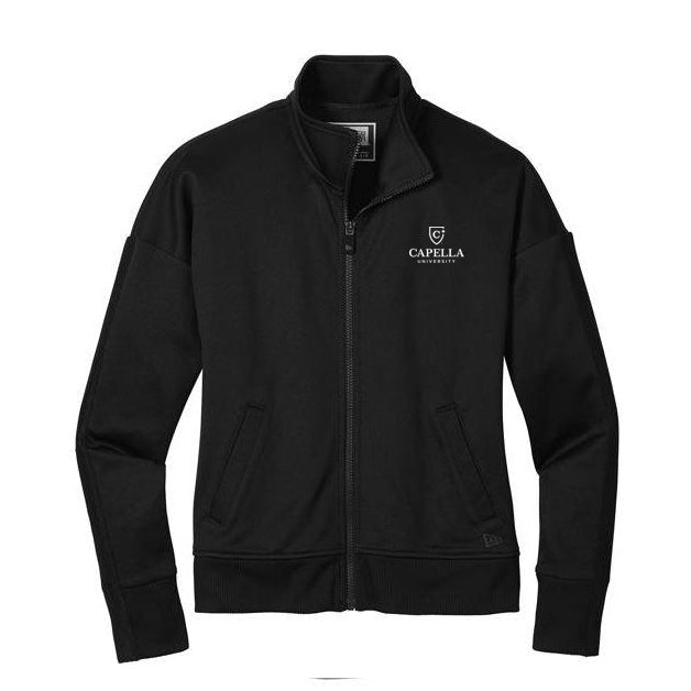 New Era ® Ladies Track Jacket - Black/ Black