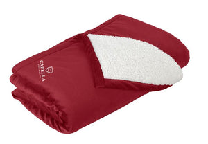 Port Authority® Mountain Lodge Blanket - Red Rhubarb