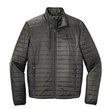 Load image into Gallery viewer, Port Authority ® Packable Puffy Jacket-Sterling Grey/ Graphite