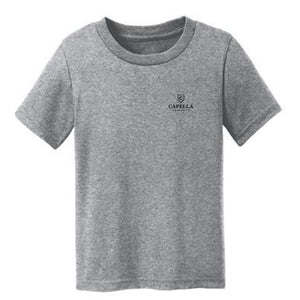 Port & Company® Toddler Core Cotton Tee-ATHLETIC HEATHER