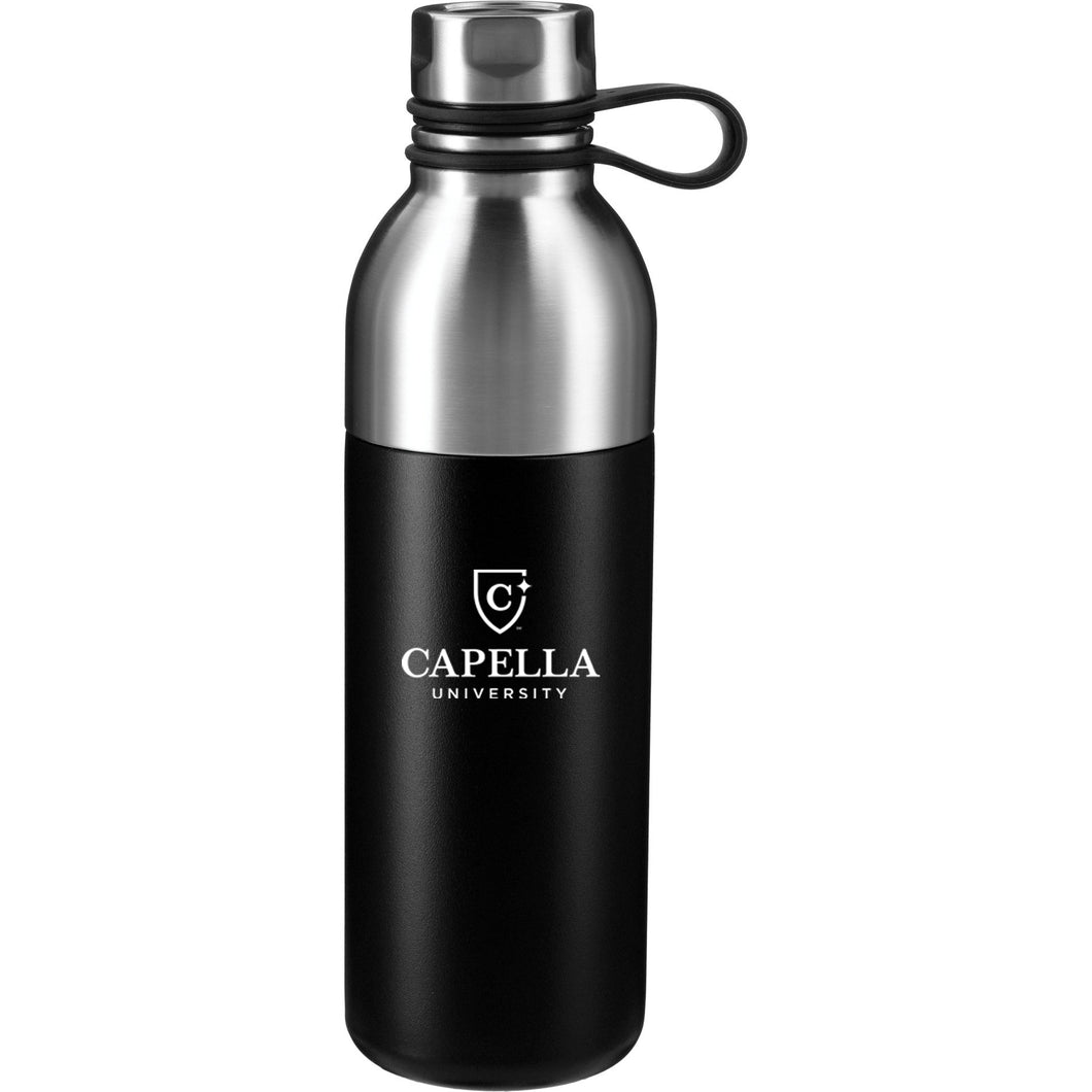 Koln Copper Vacuum Insulated Bottle 18oz - Black