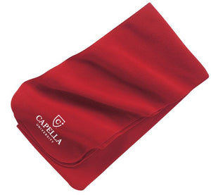 Port Authority® Extra Long Fleece Scarf - Red