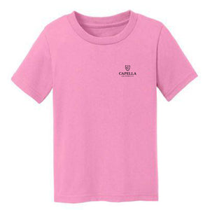 Port & Company® Toddler Core Cotton Tee-PINK