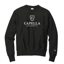 Load image into Gallery viewer, Champion ® Reverse Weave ® Crewneck Sweatshirt-BLACK