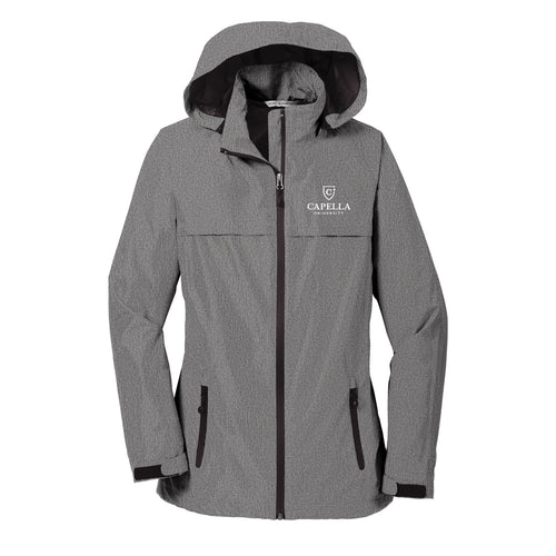 Port Authority® Ladies Torrent Waterproof Jacket - Dark Grey Heather