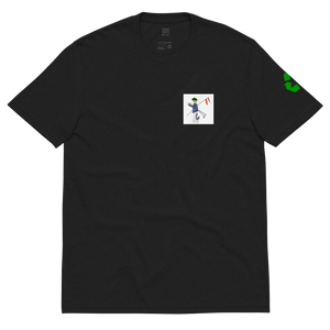 "Open image in slideshow, FlagBag Golf Co. ""Caddie Man"" Recycled T-Shirt ♻️ - Unisex"