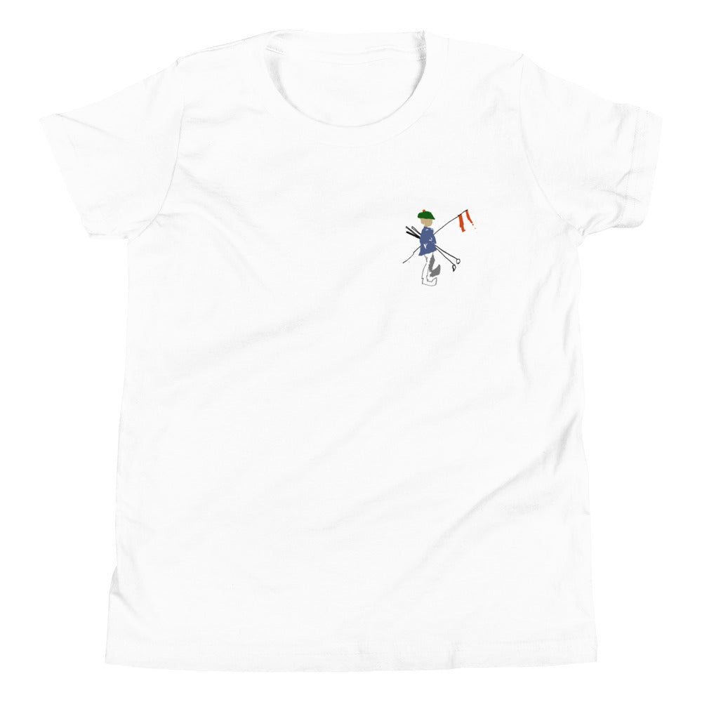 FlagBag Golf Co. Youth Short Sleeve T-Shirt (Small Logo)