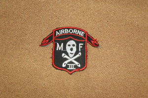 Airborne MF III Patch