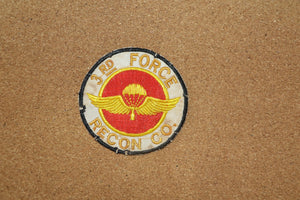 3rd Force Recon Company Patch
