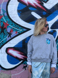 The Great Wave Crop Crewneck