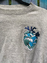 Load image into Gallery viewer, The Great Wave Crop Crewneck