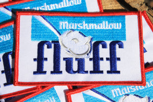 Marshmallow Fluff Logo Patch