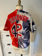 Load image into Gallery viewer, Mixed Up Red Sox Acid Wash Tee