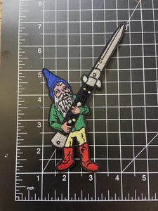 Gnome with Switch Blade