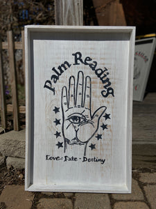 Palm Reading Lab Tray