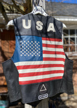 Load image into Gallery viewer, USA Biker Vest