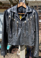 Load image into Gallery viewer, Gypsy Leather Fringe Jacket