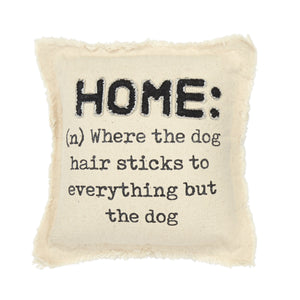 Home Washed Canvas Dog Pillow