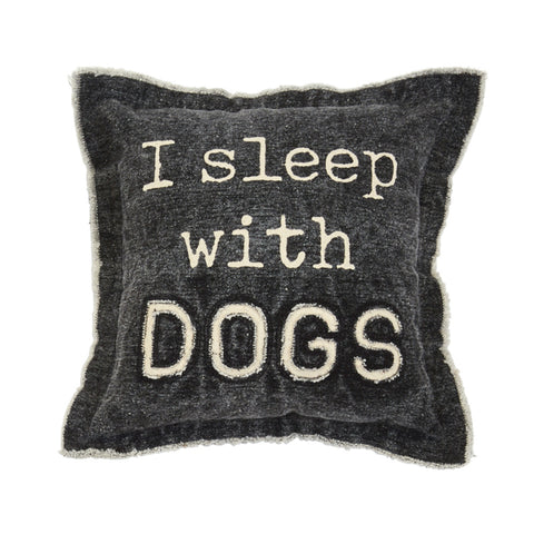 Sleep Washed Canvas Dog Pillow
