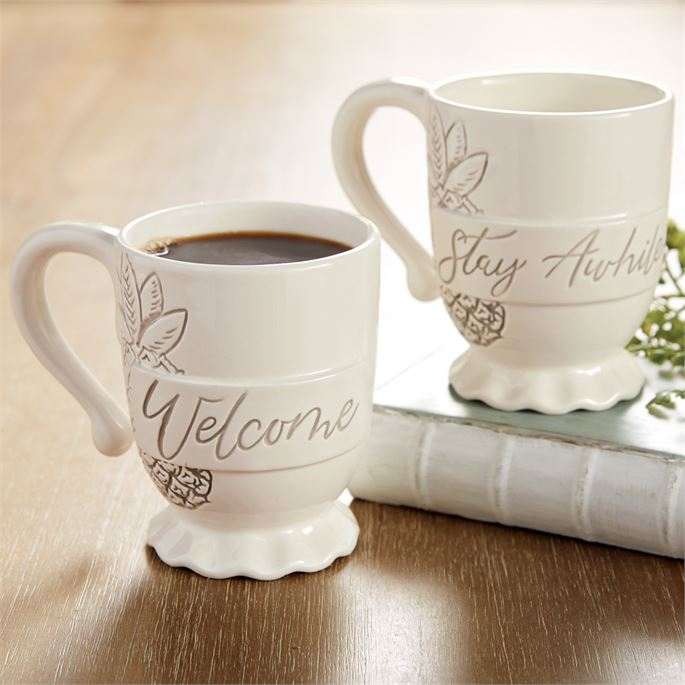 Welcome Washed Pineapple Mug