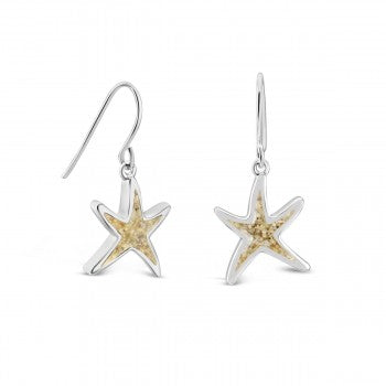 Dune Delicate Starfish Earrings