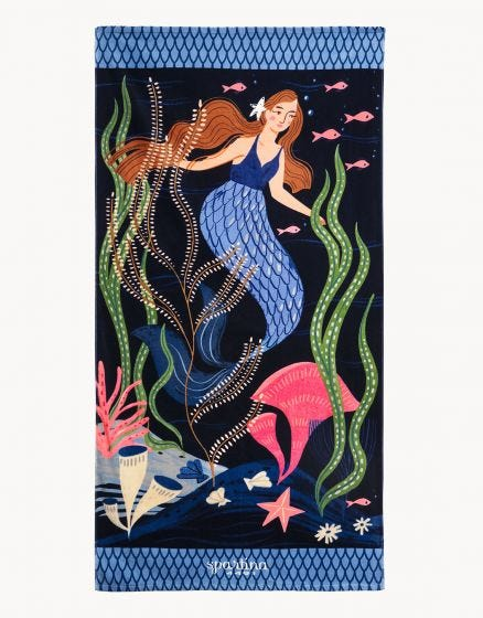 Spartina GypSea Mermaid Beach Towel