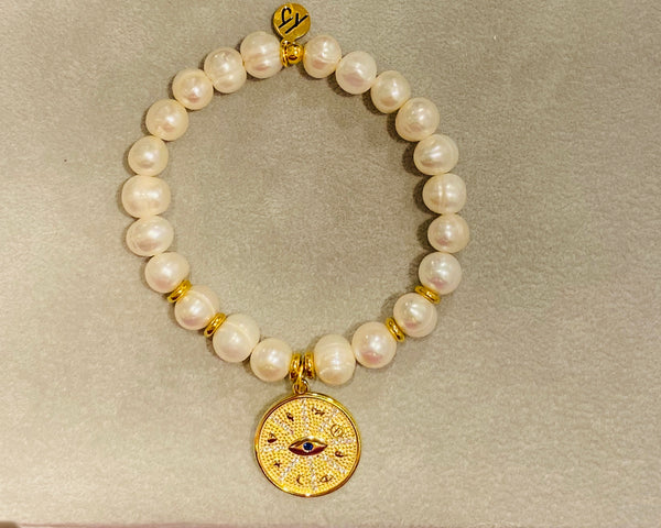 White Pearl Protection Gold