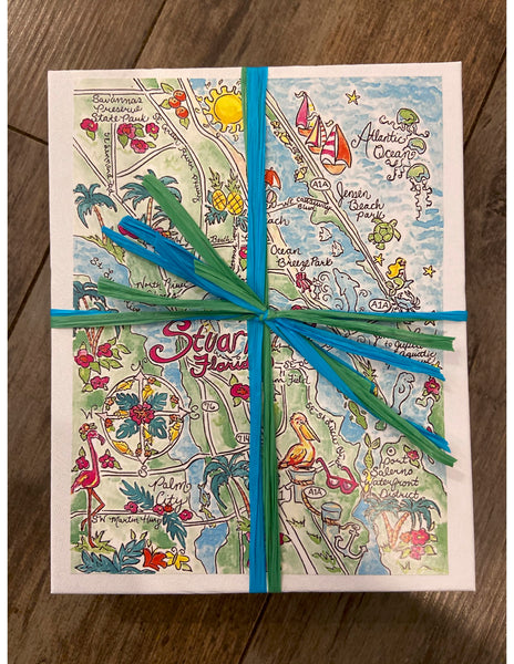 Go Coastal Stuart Map Puzzle