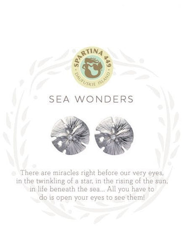 501699 SLV Stud Earrings Sea Wonders SIL