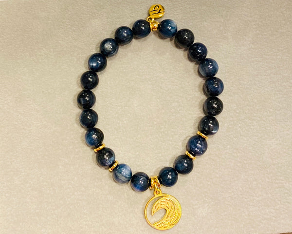Kyanite Crest Wave Gold