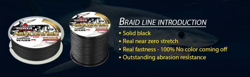Ashconfish Braided Line