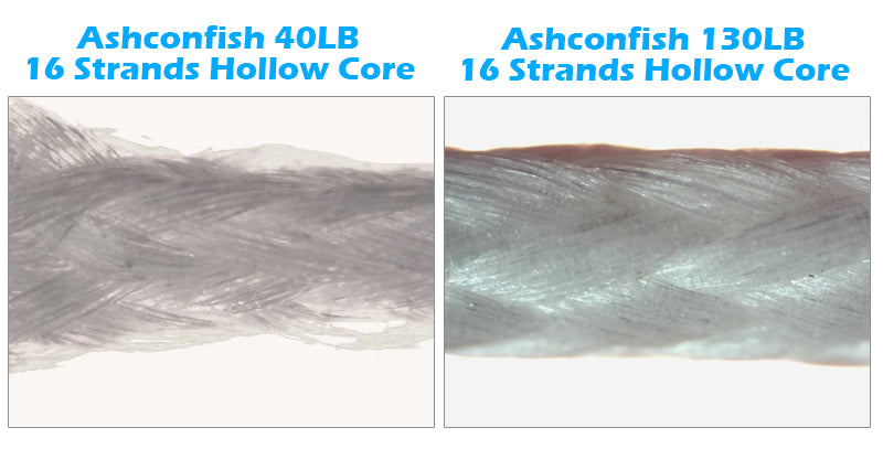Hollow Core 16 Strands Braid