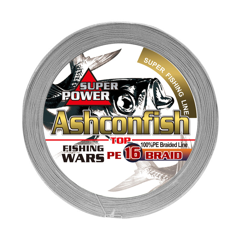 Ashconfish 16 strands braided line Hollow Core