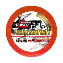 Load image into Gallery viewer, Ashconfish Hollow Core Fishing Line 16 Strands Braid