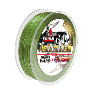 Ashconfish 4 strands braided fishing line
