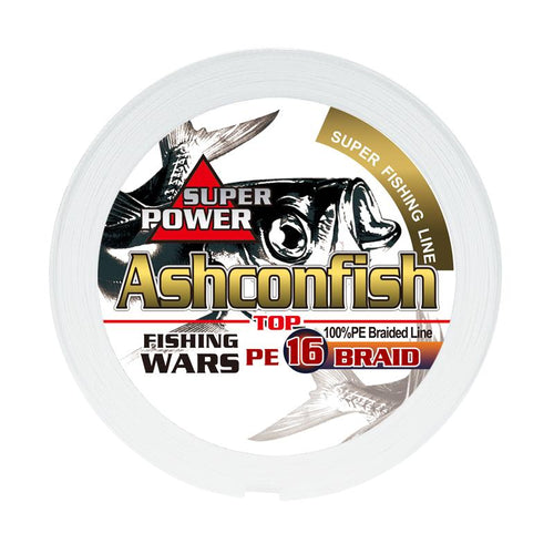 Ashconfish Hollow Core 16 Strands Braid Line