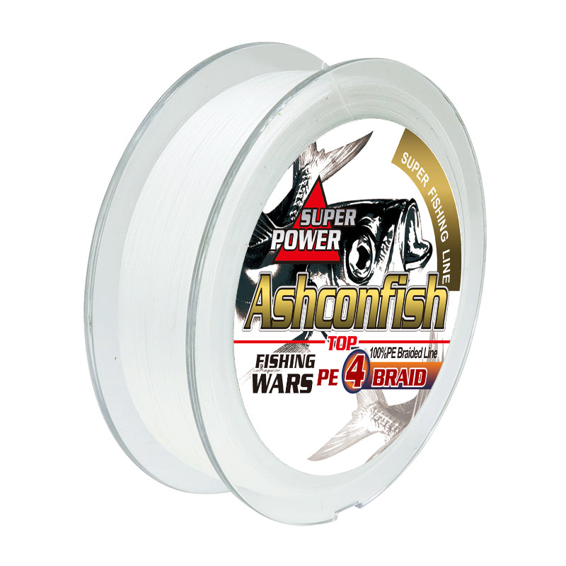 Braided fishing line 4 strands