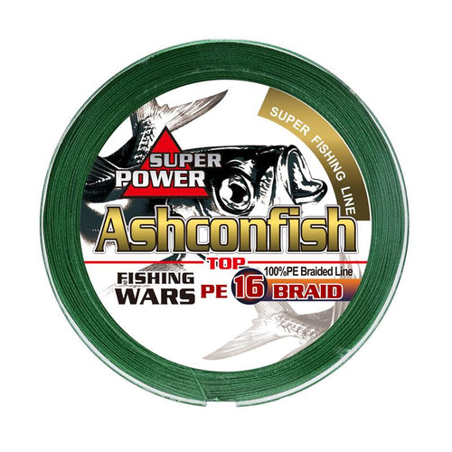 Ashconfish 16 Strands Braided Fishing Line Hollow Core