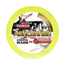 Load image into Gallery viewer, Ashconfish Hollow Core 16 strands braided fishing line