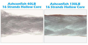 Ashconfish Hollow Core Braid Fishing Line