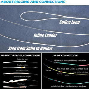 Ashconfish 16 strands Hollow Core Line