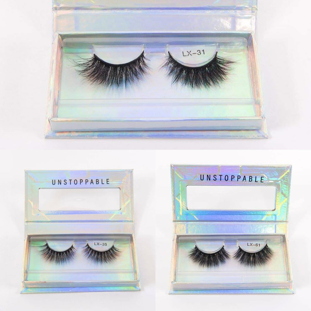 3D Mink Lashes | Reusable lashes | full lashes | Cruelty Free