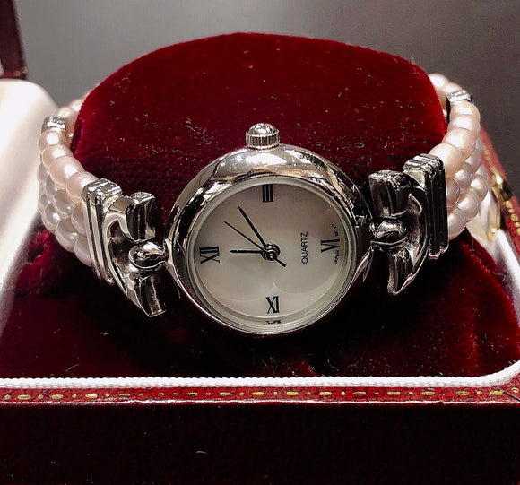 Fresh water pearl Ladies watch