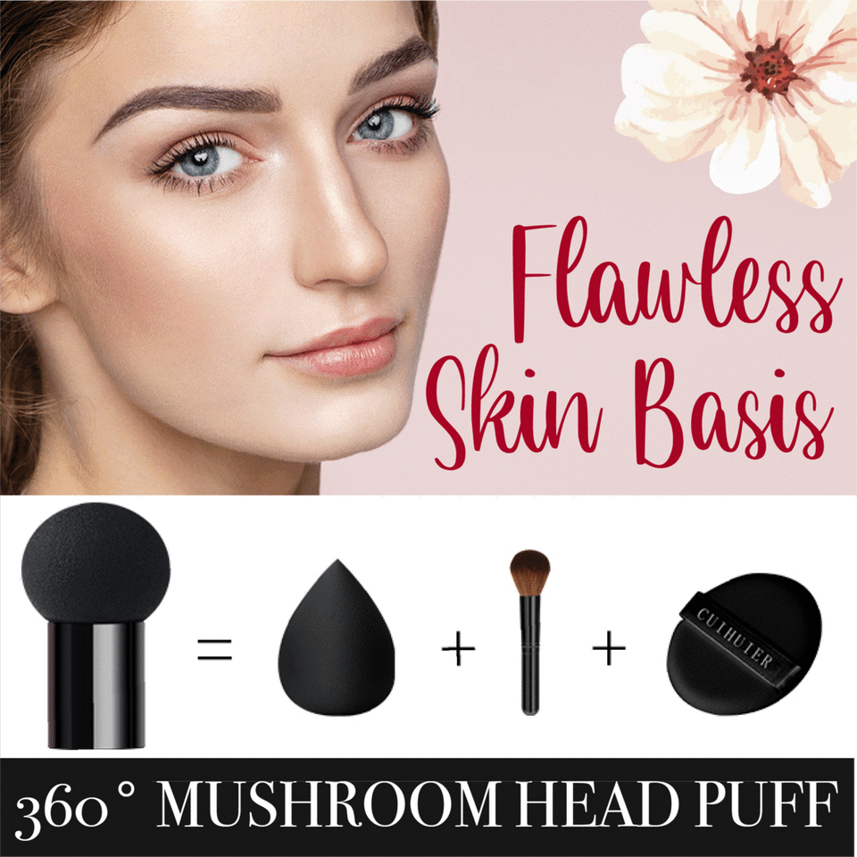 Mushroom Puff Full Coverage Air Cushion