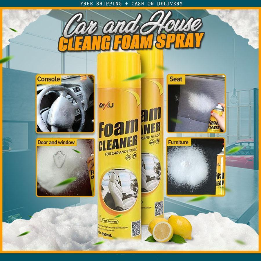 ( BUY 1 GET 1 FREE ) ALL-PURPOSE FOAM CLEANER CLEANING SPRAY