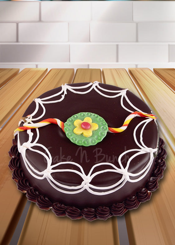 Chocolate Rakhi Cake