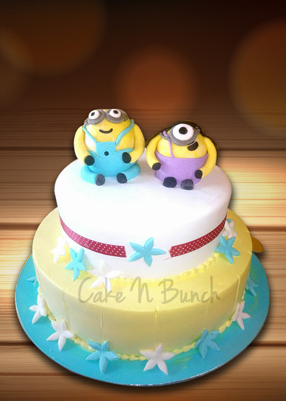 Minion Layer Cake