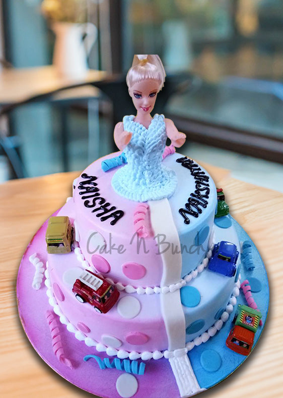 Lovely Barbie Cake