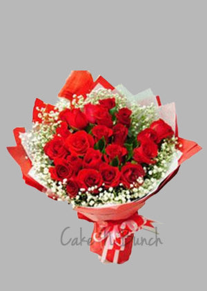 Classic Brithday Roses Bouquet
