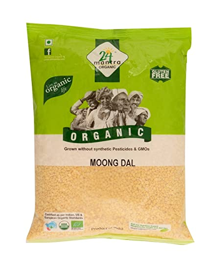 24 Mantra Organic Moong Dal   500 GM